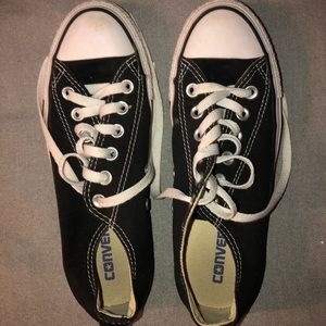 NEW low top black All Star Converse